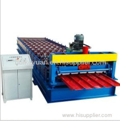 25-200-1000 Trapezoidal Profile Roof Panel Roll Forming Machine