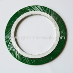 Spiral wound gasket(PTFE) with outer ring