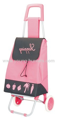 Foldable Shopping Trolley Bag Cart With Smooth Wheels