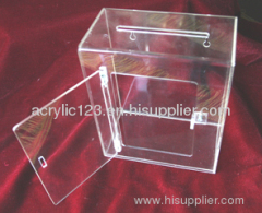 acrylic display box with lock