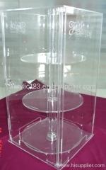 acrylic vertical display showcases