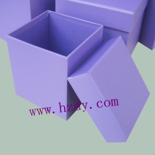 One color printed paper box
