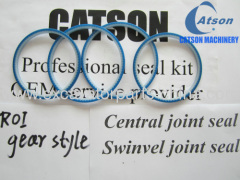 Central joint seal swinvel joint seal ROI seal PU blue white