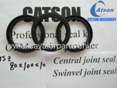 central joint seal swinvel joint seal oil seal 80*100*10