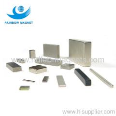 Rare Earth Ndfeb Magnet square black and bar
