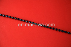 decorative gun black beaded curtain