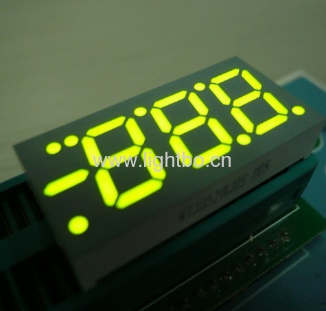 Ultra Blue 0.52common anode 3 digit numeric led display for air conditioner control