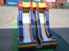 20ft accelerator inflatable slide