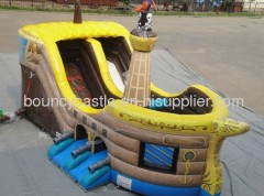 digital printed commercial bouncer with slide