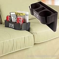 SOFA CUSHION DRINK HOLDER