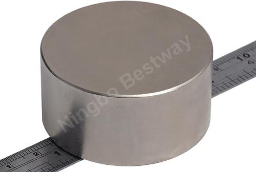 D25x10mm NdFeB Magnet Neodym NiCuNi coating