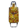 PU Leather Trolley Bag Carts