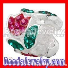 european Charms Swarovski Crystal Beads