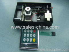 Motorized digital safe lock with indicator