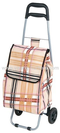 rolling trolley cart bag with smooth wheels