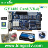 windows 7 dvr card h 264 cctv software dvr card pc based dvr card GV1480 V8.4