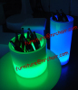 nightclub acrylic LED table ice buckets