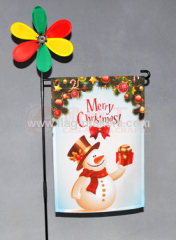Custom Christmas Santa Clause garden flag