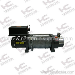 Car trailer winches for jeep