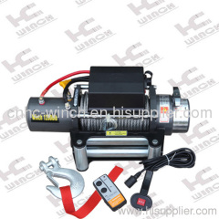 steel cable winch