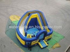 Backyard inflatable bouncer