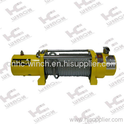 4x4 cable winch