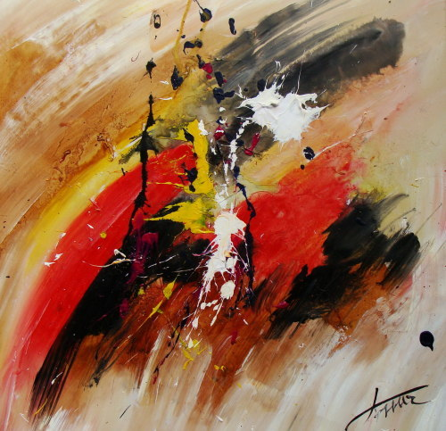 Handpainted Oil Painting Abstract