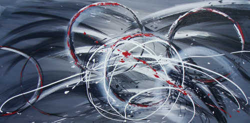 Handpainted Abstract Art Oil Paintings