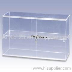 acrylic exhibition display showcase