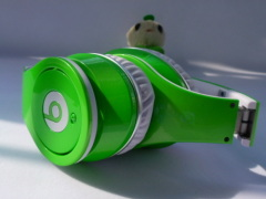 silver studio headphone