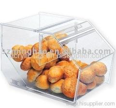 acrylic cake display showcase