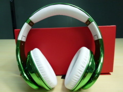 Electroplate beat headphone