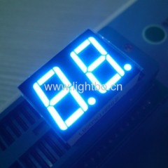 0.56 inches anode ultra blue 2 digit led 7 segment displays