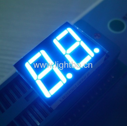 Dual-digit 0.56 inch common anode ultra bright red 7-Segment LED Display