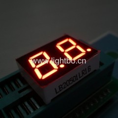 Dual-digit led numeric display;2 digit led 7 segment display