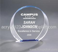 all kinds of acrylic award