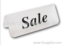 acrylic letter sign silk screen