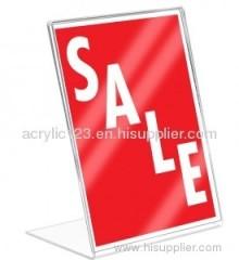 acrylic display sign