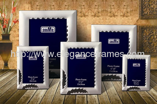 Silver plated Aluminum photo Frames
