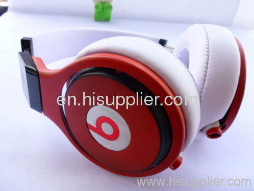 AAA quality Beats by Dr. Dre PRO Headphones From Monster in red and white