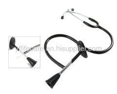 chrome plated brass binaural fetal stethscope