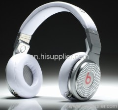 Diamond Pro white AAA quality Beats by Dr. Dre PRO Headphones From Monster
