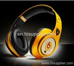 Diamond lambo studio AAA quality Beats by Dr. Dre studio Headphones From Monster