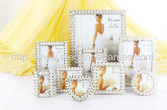 Metal Crystals Photo Frames