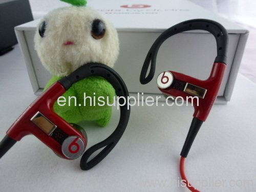 Monster Beats POWERBEATS in-Ear Headphones in black/white/red