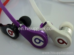 Monster Beats Tour in-Ear Headphones in black/white/purple
