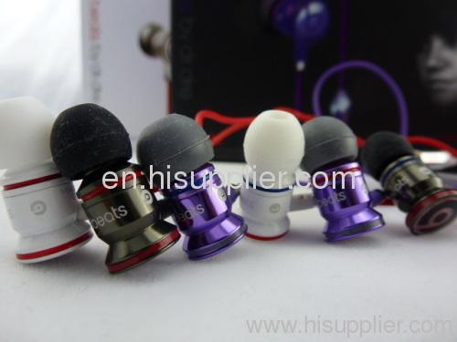 Monster Beats IBEATS in-Ear Headphones in black/white/purple