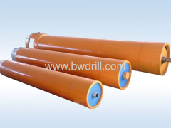 Pneumatic pipe rammer for drilling machine