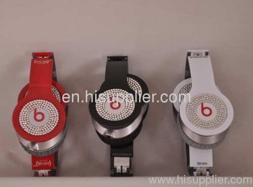 Monster beats by Dr.Dre white diamond SOLO HD Headphone