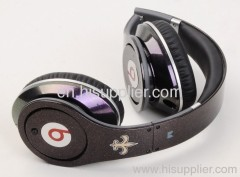 Studio new england patriots high fashion quality and stereo Monster Beats Studio Headphone